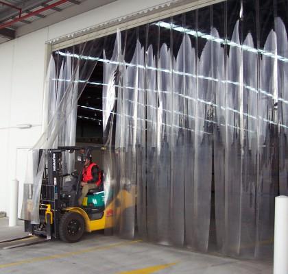 Warehouse Door PVC Strip Curtain